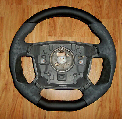 Ford Falcon FPV BA BF FPV GT-P XR GT SR chunky perforated leather steering wheel