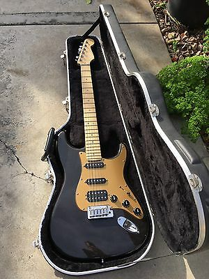 Fender American Deluxe HSS Stratocaster Electric Guitar.