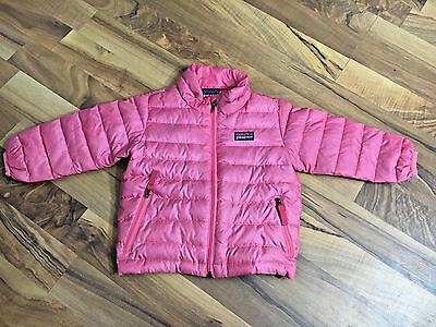 Children's Baby Girls Size 12M 12 Months Patagonia Pink Winter Coat Jacket