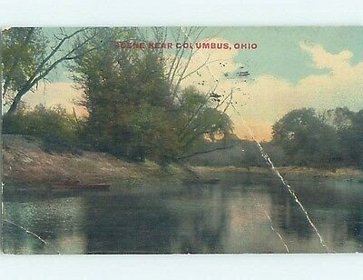 Bent Divided-Back POSTCARD FROM Columbus Ohio OH HM7140