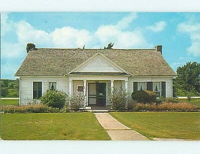 Unused Pre-1980 JONES HOUSE AT PARK Old Washington Texas TX hk6048