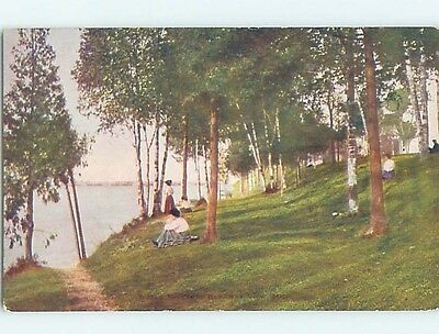 Unused Divided-Back POSTCARD FROM Bay View Michigan MI HM5626