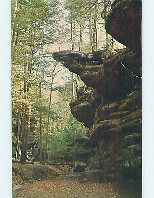 Unused Pre-1980 PARK SCENE Logan Ohio OH hk6204