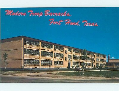 Unused Pre-1980 Military FORT HOOD BARRACKS Killeen Texas TX hn3176-15