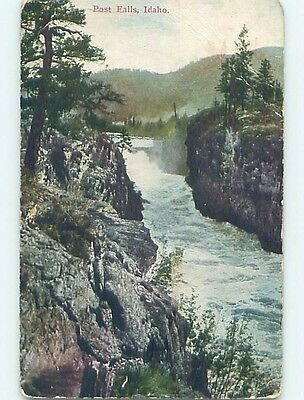 Divided-Back POSTCARD FROM Post Falls Idaho ID HM6438