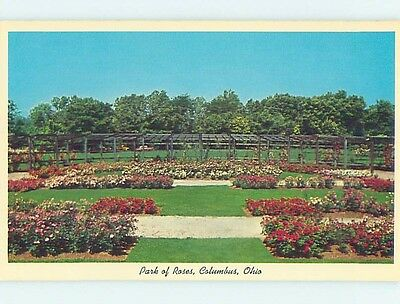 Unused Pre-1980 PARK OF ROSES Columbus Ohio OH hk6122-15