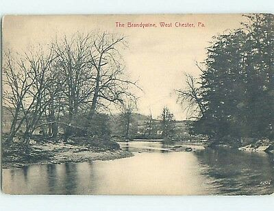 Divided-Back POSTCARD FROM West Chester Pennsylvania PA HM7006