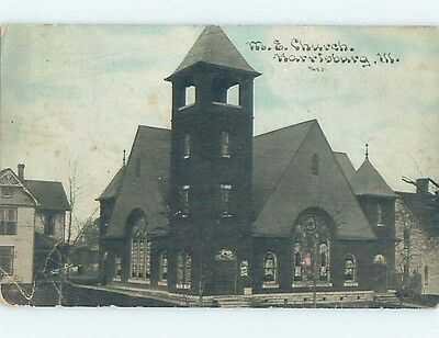 Divided-Back POSTCARD FROM Harrisburg Illinois IL HM7154