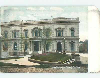 Chipped Divided-Back POSTCARD FROM Baltimore Maryland MD HM6763