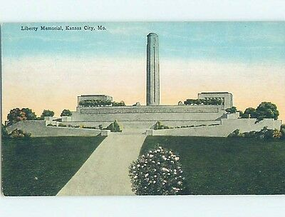 Divided-Back POSTCARD FROM Kansas City Missouri MO HM7997