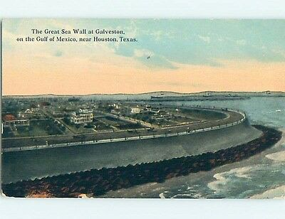 Divided-Back POSTCARD FROM Galveston - Near Houston Texas TX HM7010