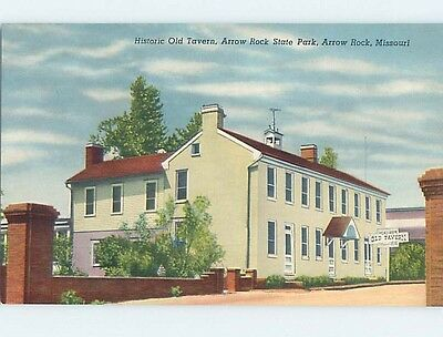 Unused Pre-1980 HISTORIC OLD TAVERN Arrow Rock Missouri MO hk5755
