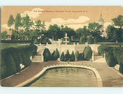 Divided-Back POSTCARD FROM Lakewood New Jersey NJ HM7312