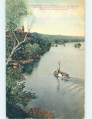 Divided-Back POSTCARD FROM Minneapolis Minnesota MN HM6391
