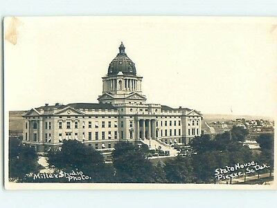 Pre-1950 rppc STATE HOUSE Pierre South Dakota SD HM3570