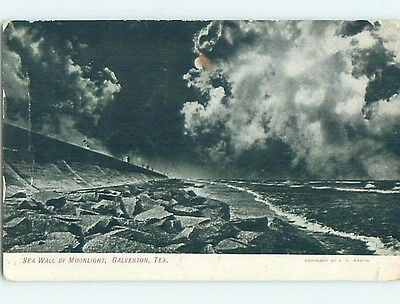 Divided-Back POSTCARD FROM Galveston - Near Houston Texas TX HM7571