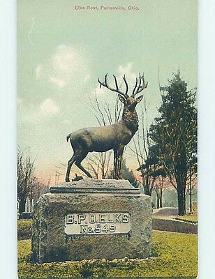 Unused Divided-Back POSTCARD FROM Painesville Ohio OH HM6278
