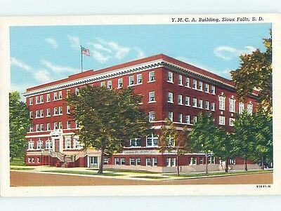 Unused Linen YMCA BUILDING Sioux Falls South Dakota SD HM9016