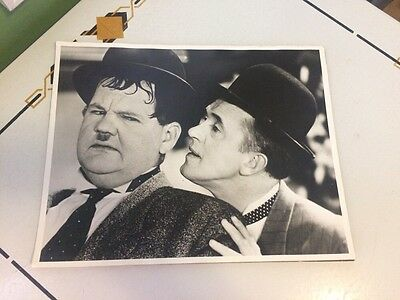 Laurel & Hardy Hollywood Party Photo 11 X 14 Mounted