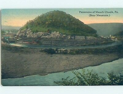 Divided-Back POSTCARD FROM Mauch Chunk - Jim Thorpe Pennsylvania PA HM7741