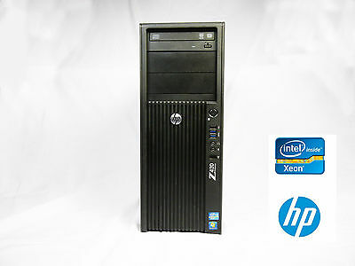 HP Z420 Workstation Xeon Quad Core 2.8GHz 16GB RAM 2TB HD Quadro FX1800 WIN7 PRO