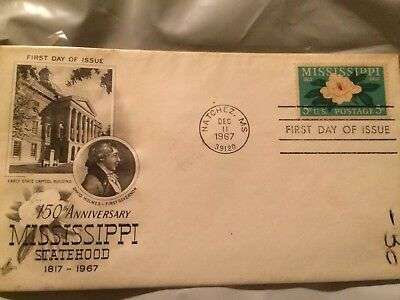 Vintage Stamp First Issue Mississippi 1967