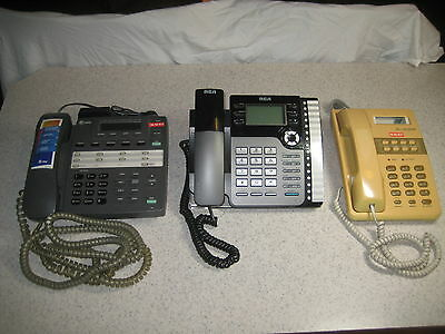 Lot of 3 Answer Machines / Speaker Phones, FREE SHIPPING