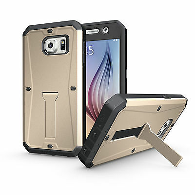 New  Luxury Shockproof Protective Case Cover For Gold For Samsung Galaxy S6