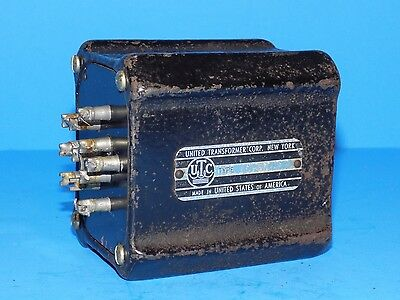 *** Vintage Utc United Ls-50  Audio Transformer For Tube Amplifier