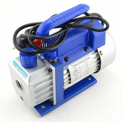 3CFM 1Stage Refrigerant Vacuum Pump Refrigeration Gauges Tools Air Condition New