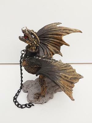 Game Of Thrones Unleashed Dragon*figurine/statue*polyresin*black Tan Free Post