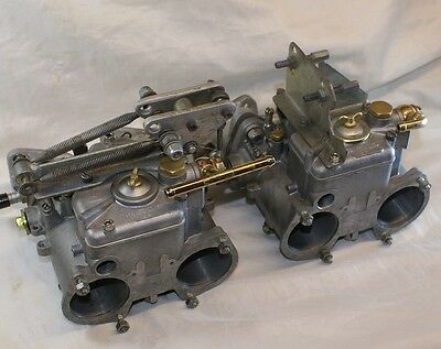 Weber 45 DCOE  Carb vauxhal c20xe redtop westfield manifold and K&N filters link