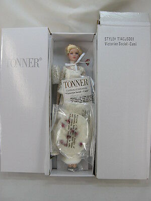 Victorian Social Cami Tonner Doll Le 200 2014 Convention - Breathtaking Outfit!