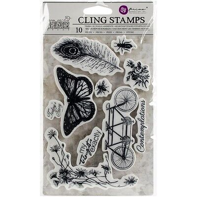 "Iron Orchid Designs Cling Stamps 5""X7"" - Nature"
