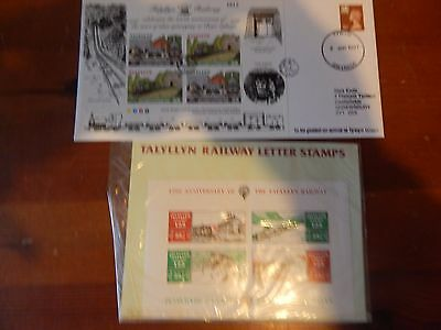 Collection Of Gb Local Railway Letter Stamps (Umm)  & Cover Very Fine Condition