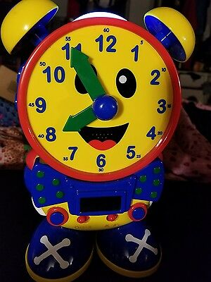 Learning Journey Telly The Teaching Analog/Digital Time Clock School Telling Toy