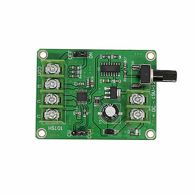 DC 5V-12V 1.2A 3/4 Wire DC Brushless Motor Driver Module Speed Controller Module