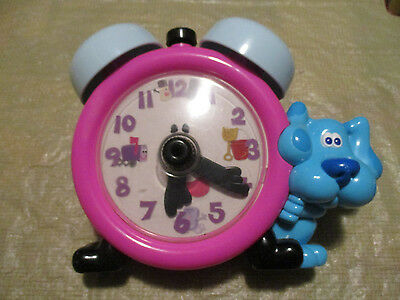 1998 Tyco Blues Clues Tickety Tickity Tock Clock Talking -Learn to Tell Time
