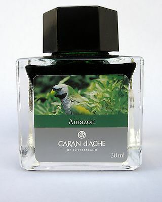 Caran d'Ache Amazon Ink from Colours of the Earth