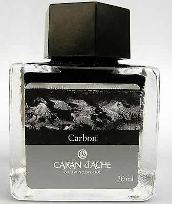 Caran d'Ache Carbon Ink from Colours of the Earth