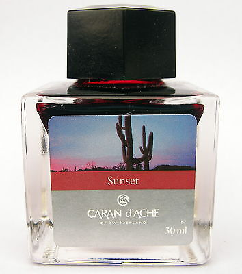 Caran d'Ache Sunset Ink from Colours of the Earth