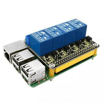 Keyestudio RPI 4 Channel Relay Board Module 5V Relay Shield for Raspberry Pi