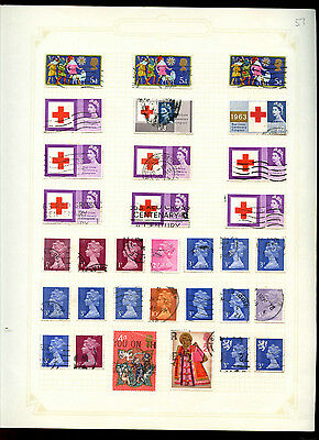 GB Album Page Of Stamps #V5182