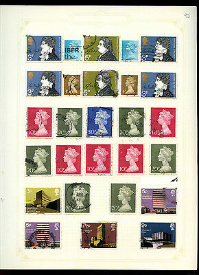 GB Album Page Of Stamps #V5188