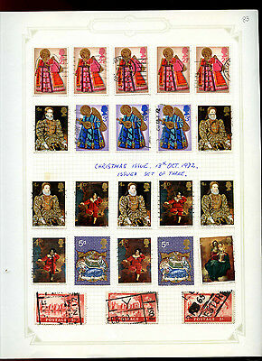 GB Album Page Of Stamps #V5178