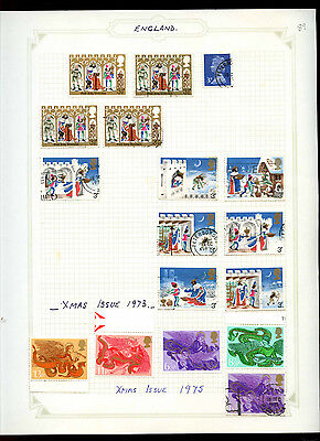 GB Album Page Of Stamps #V5185