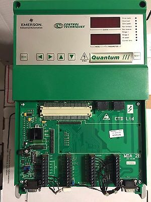 Quantum Iii Control Techniques  75Hp 9500-8305 Dc Drive Tested 1 Year Warranty