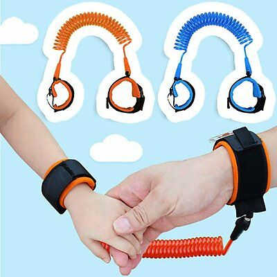 Child Kid Anti-lost Safety Wrist Link Harness Strap Traction Belt Traction Rope