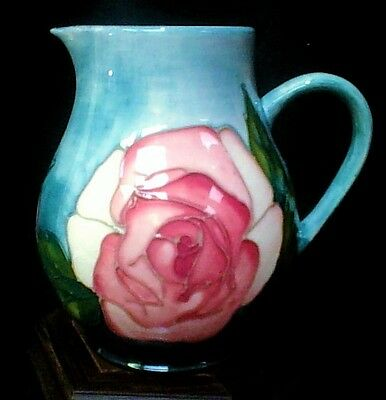 "MOORCROFT  ""Roses"" Jug  for Collector's Club by William Moorcroft   1st Quality"