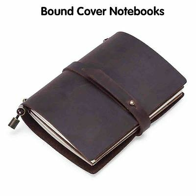 Journals Travel Diaries Gift Book Bound Cover Notebooks Handmade Real Leather
